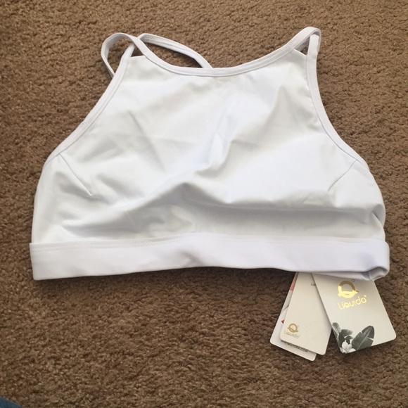 36e2213f70 Liquido active dare to be bold bra white